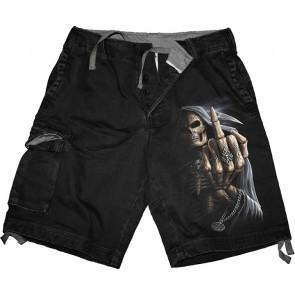 Bone finger - Short long homme - Squelette - Spiral