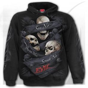 See no evil - Sweat shirt dark crane - Homme