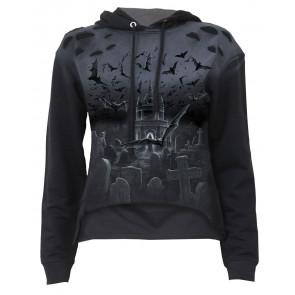 boutique vente vêtement sweat shirt gothique pour femme