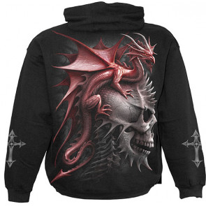 sweat shirt de dragon spiral