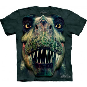 tee shirt homme dinosaure t-rex the mountain