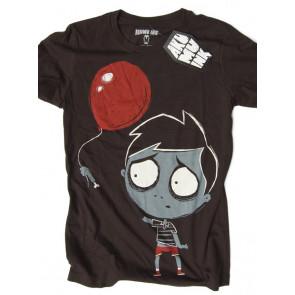 bye bye ballonn tee shirt femme zombie humour