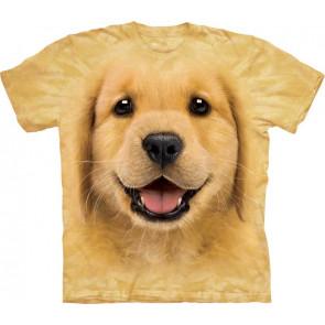 t-shirt enfant the mountain golden retriever labrador