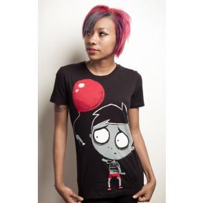 Bye bye balloon - T-shirt femme gothique - Akumu Ink