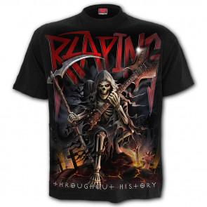 boutique vente tee shirt rock heavy metal reaping tour la faucheuse reaper manches courtes