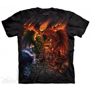 tee shirt the mountain adulte titan apocalypse