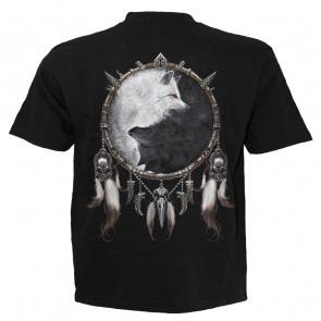 Wolf chi - T-shirt homme - Loup gris et noir