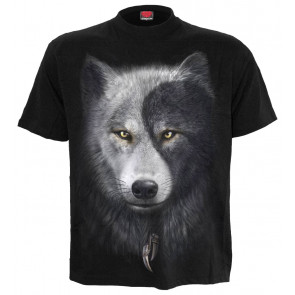 Boutique tee shirt homme motif loup wolf chi
