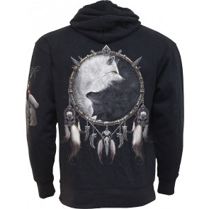 Wolf chi - Sweat shirt homme - Loup - Spiral