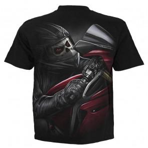 Boutique t-shirts motif motard biker démon
