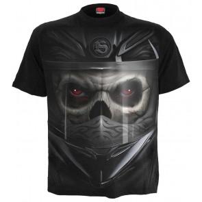 Demon biker - T-shirt dark motard - Homme