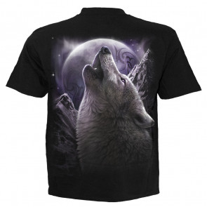 Wolf soul - T-shirt homme loup fantasy