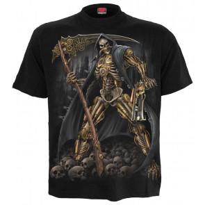 Steampunk skeleton - T-shirt homme - Spiral