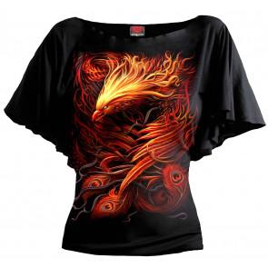 Phoenix arisen - Tee-shirt femme - Fantasy