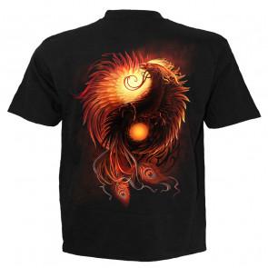Phoenix arisen - T-shirt fantasy - Spiral