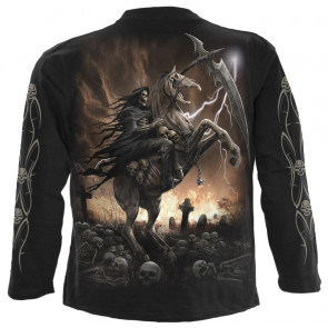 Pale rider - T-shirt reaper squelette - Homme - Spiral