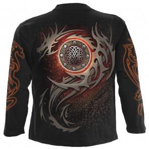 Dragon eye - Tshirt homme - Manches longues - Spiral