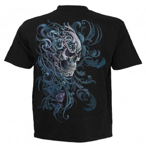 Rococo skull - T-shirt gothique squelettes - Homme - Spiral