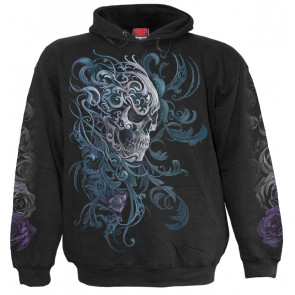 Rococo skull - Sweat shirt homme - Gothique