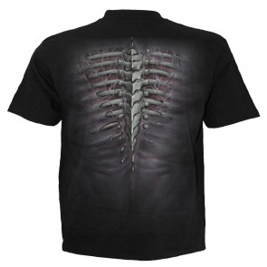 Ripped - T-shirt gothique squelette - Homme - Spiral