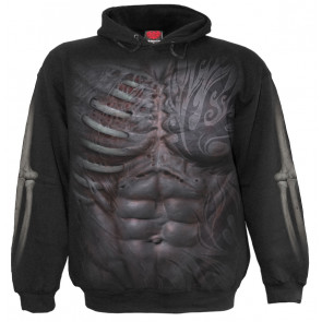 Ripped - Sweat shirt squelette - Spiral - Homme