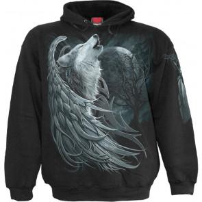 Wolf spirit - Sweat shirt homme - Loup - Spiral