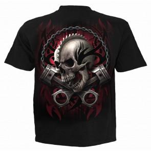 Soul rider - T-shirt homme squelette motard