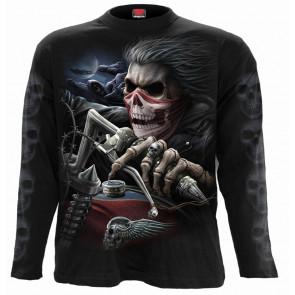 boutique vetement motard rock squelette dark fantasy