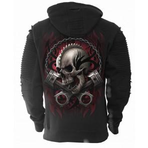 Soul rider - Sweat shirt squelette - Moto - Motard