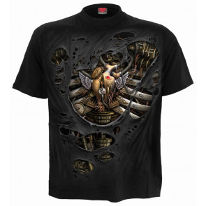 Steam punk ripped - T-shirt homme - Spiral