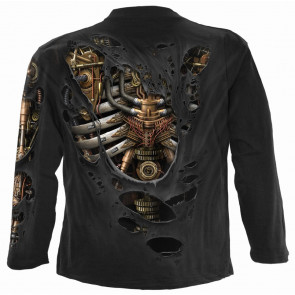 Steam punk ripped - T-shirt homme - Squelette