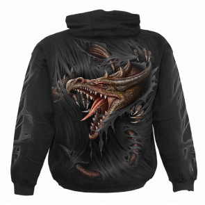 Boutique vente vetement enfant sweat shirt motif dragon breaking out