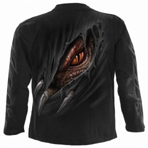 Breaking out - Tshirt homme dragon - Manches longues - Spiral