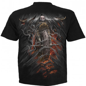 Bike life - T-shirt homme squelette motard - La Faucheuse - Spiral