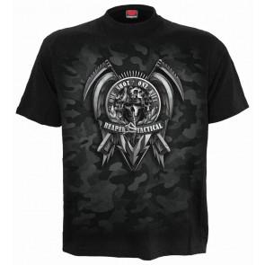 Tactical reaper - T-shirt gothique dark - Homme