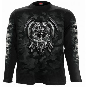 Tactical reaper - Tshirt homme - Manches longues - Gothic