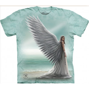 Boutique angélique motif ange tee shirt anne stokes the mountain
