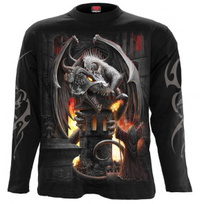 Keeper of the fortress - T-shirt homme - Manches longues