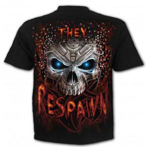 Respawn - T-shirt dark pgm jeu video - Homme