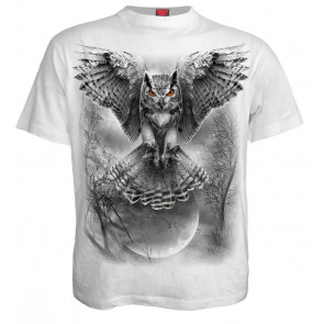 Wings of wisdom - T-shirt homme - Hibou