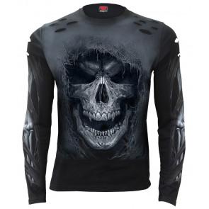 Tattered skull - T-shirt homme - Dark Reaper - Manches longues