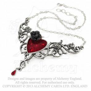 Blood roses heart - Bijou collier - Alchemy Gothic