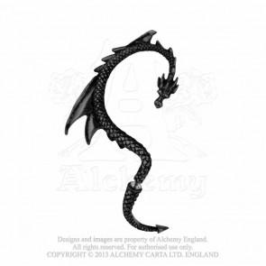 Dragon 's lure black - Contour oreille droite - Alchemy Gothic