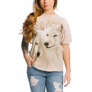 Sunlit soulmates - T-shirt loups blancs - The Mountain