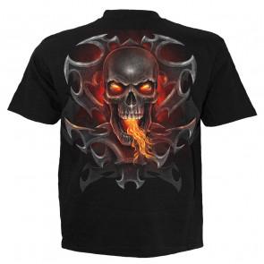 Fire dragon - T-shirt homme dragon