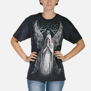 Only love remains - T-shirt ange gothic - The Mountain - Anne Stokes