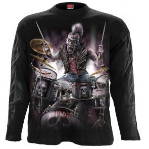 Zombie backbeat - Tshirt homme - Spiral