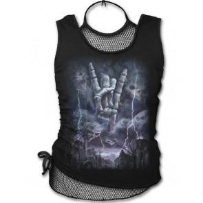 boutique vetements rock pour femme tee shirts