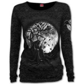 boutique gothique en ligne vente vetement femme tee shirt reaper la faucheuse