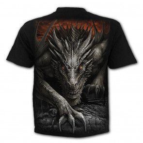 Majestic draco - T-shirt dragon - Spiral - Manches courtes